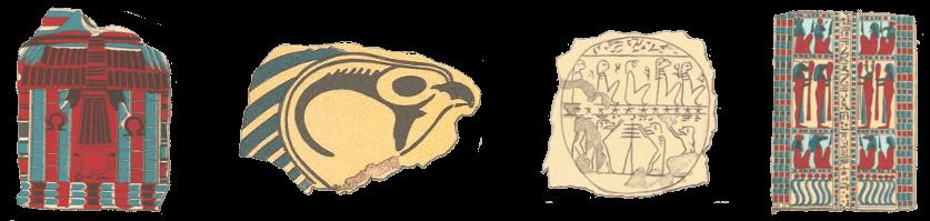 Egpyt - Egyptian Mummy Wrappings Decoration