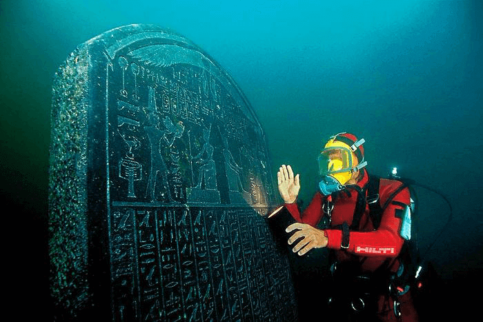 Egyptian Settlements - Heracleion Tablet Underwater